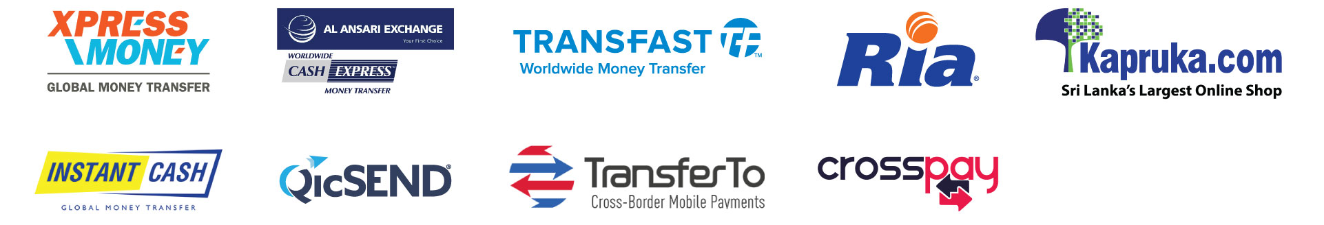 Remittance-Agent-Logos
